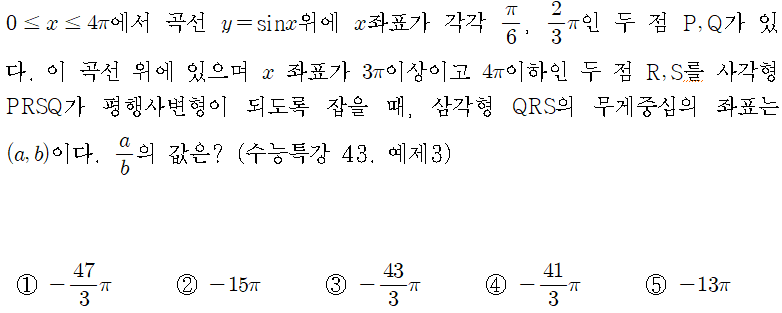 수학 출제예측 (수학I편) - 오르비