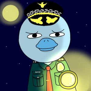 rare-경찰 오리비